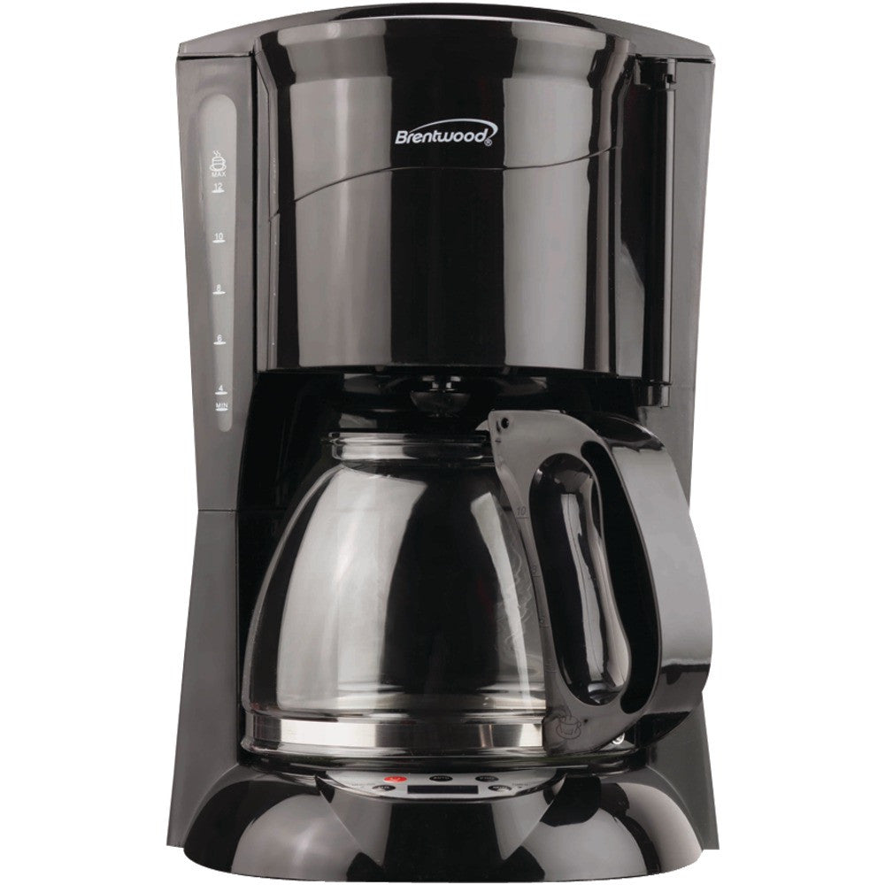 Brentwood 12-cup Digital Coffee Maker (black)