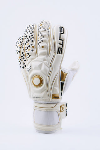 Guantes Elite Real White