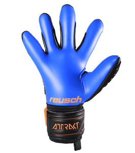 Reusch Attrakt Freegel Mx2 Negro - Naranja Black/Shocking Orange/ Deep Blue