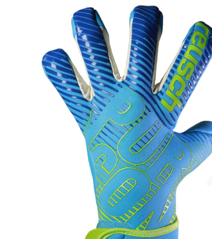Reusch Pure Contact 3 AX2 Aqua Blue / Bright Green