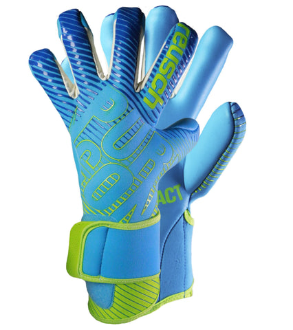 Image of Reusch Pure Contact 3 AX2 Aqua Blue / Bright Green