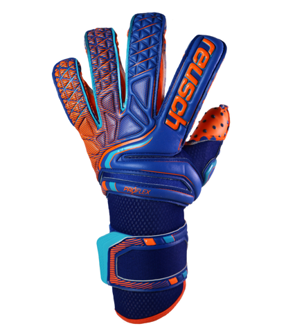 Image of Reusch Attrakt Pro G3 Speedbump Evolution Azul Naranja