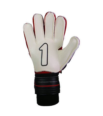 Image of Guantes Rinat Shocker SEMI Negro-Rojo