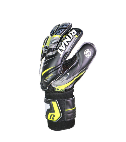 Image of Guantes Rinat Shocker SPINE SEMI varillas Negro-Neon