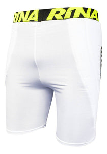 Under Short Padded Compression Lycra Blanco