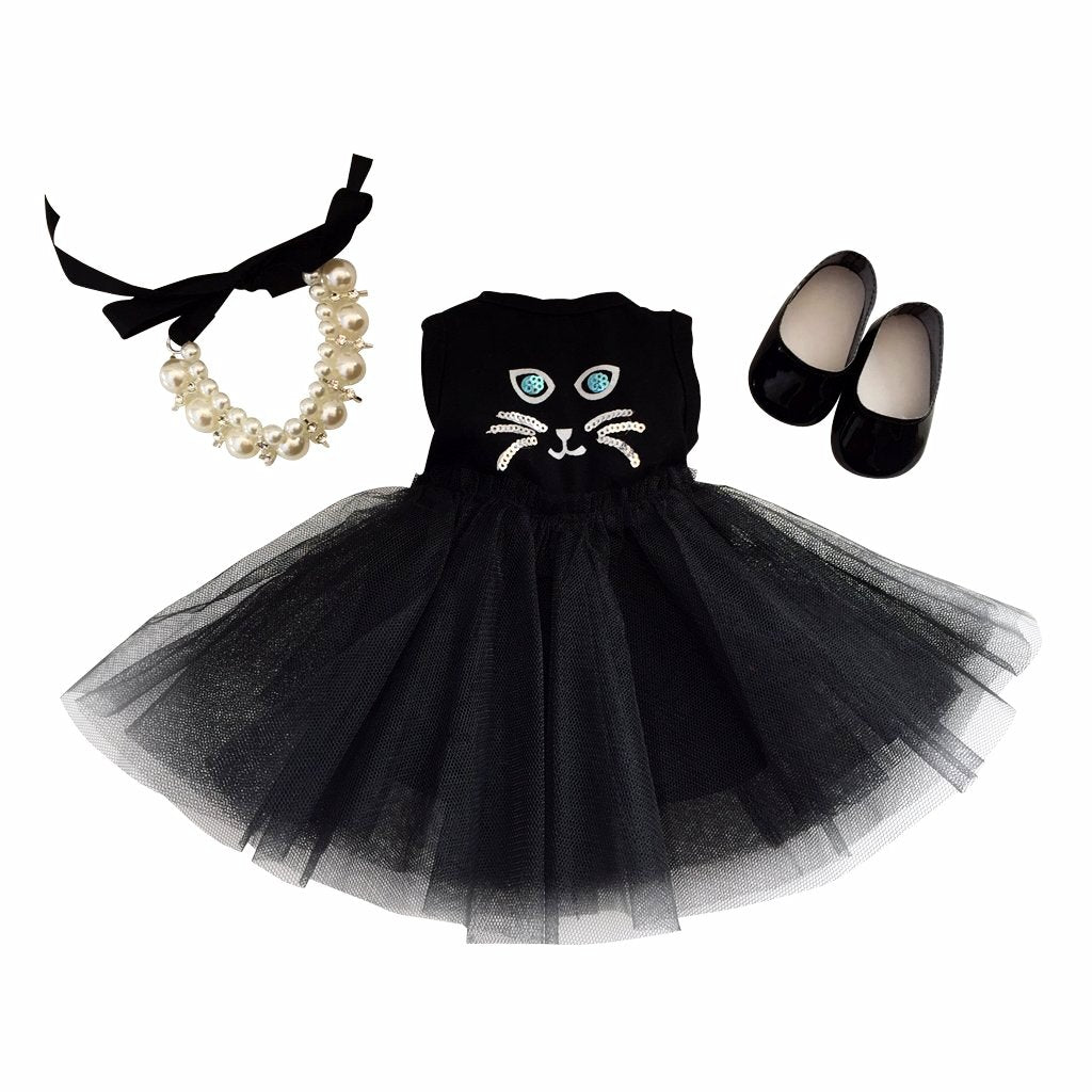 Kitten dress set