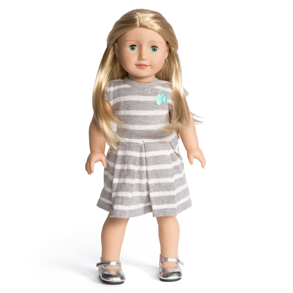 Florrie Doll 2 Light Skin Blonde Hair Green Eyes Doll