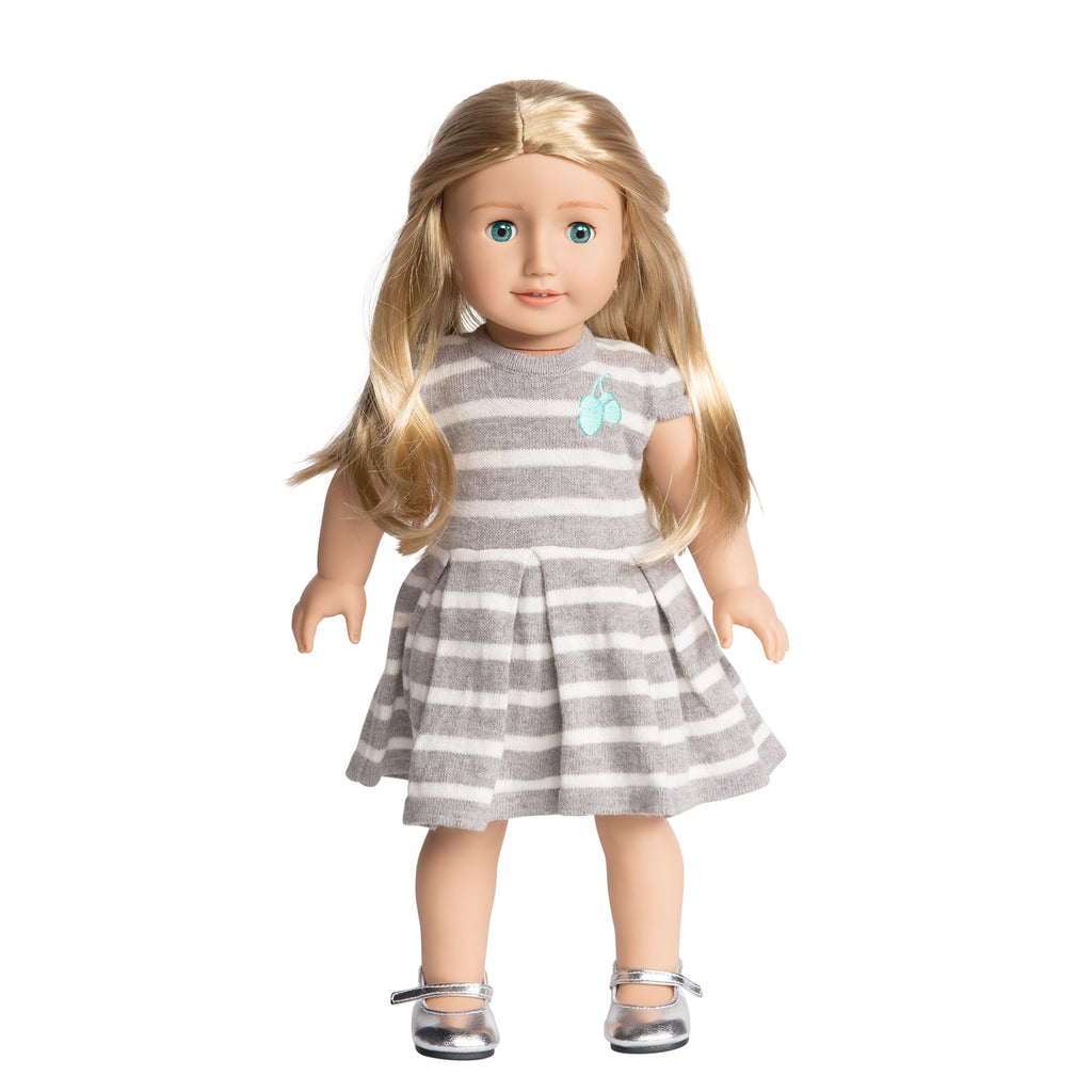 Florrie Doll 3 Light Skin Blonde Hair Blue Eyes Doll