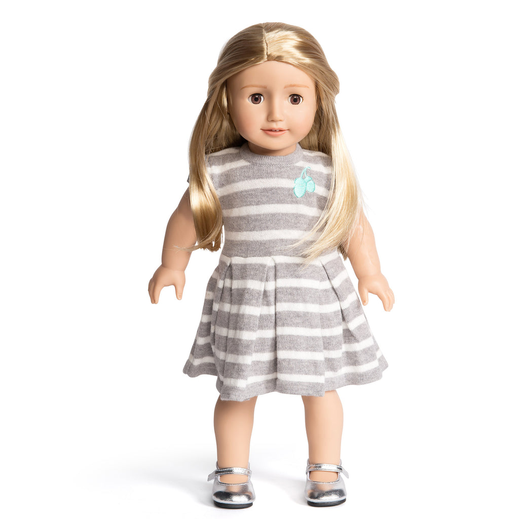 Florrie Doll 1 Light Skin Blonde Hair Brown Eyes Doll