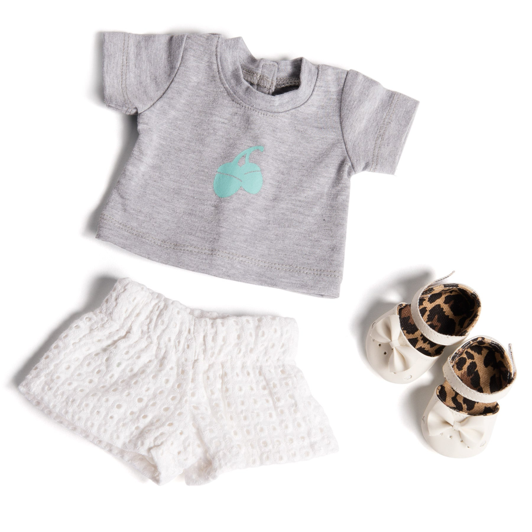 Broderie Shorts Set