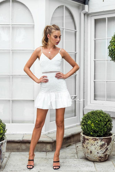 Jade Dress - White