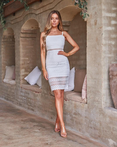 Erin Dress - White