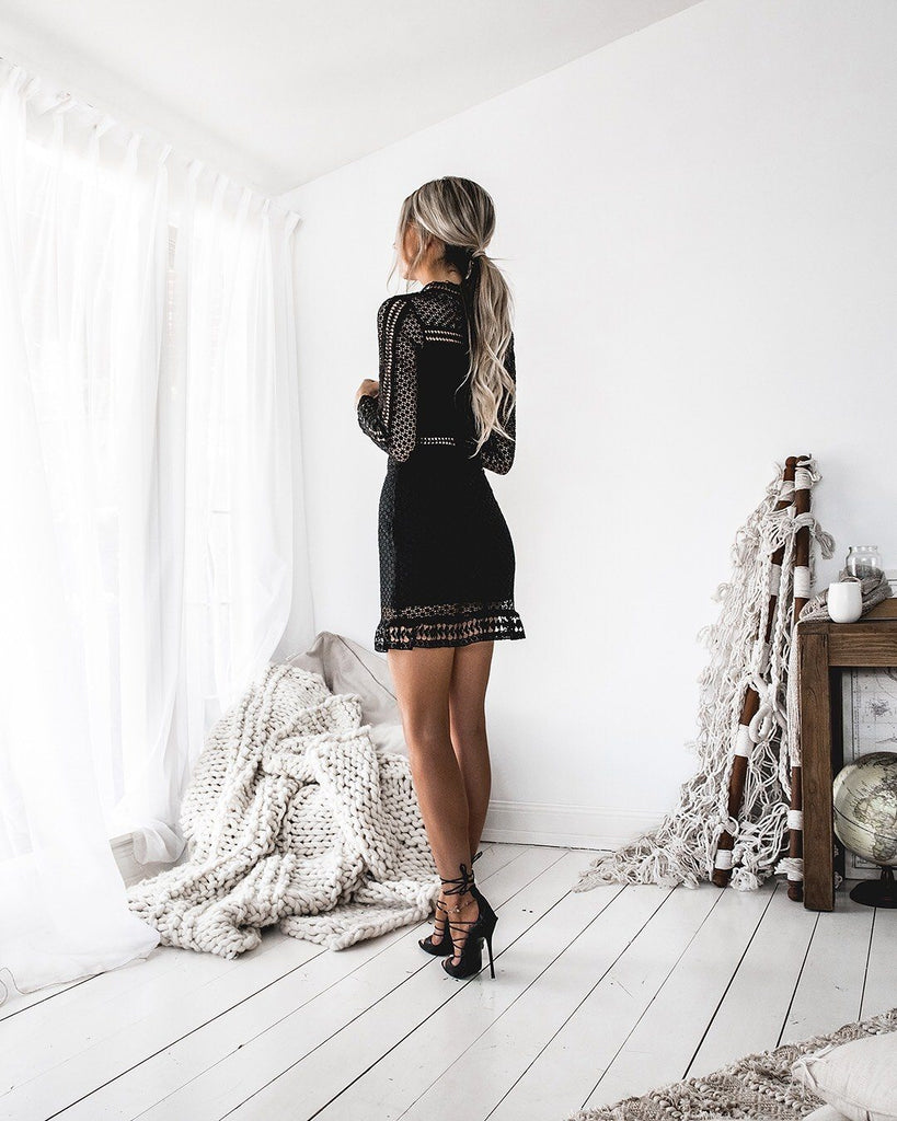Wanderlust Dress Black