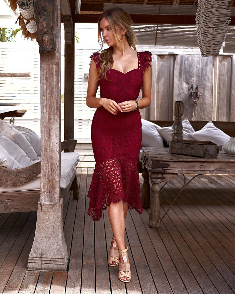0e4525b2400ac1 Giselle Dress - Red – Twosister s The Label