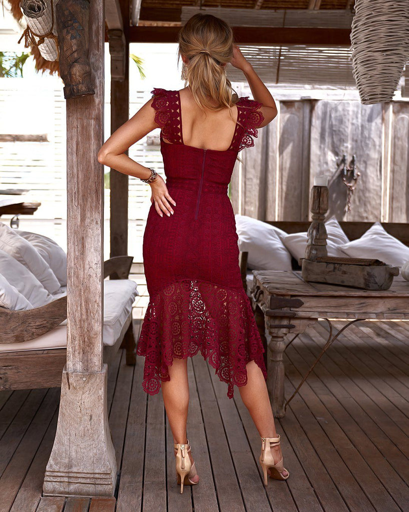 Giselle Dress - Red