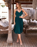 Maia Dress - Green