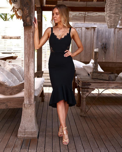 Santiago Dress - Black