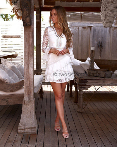 Preen Dress - White