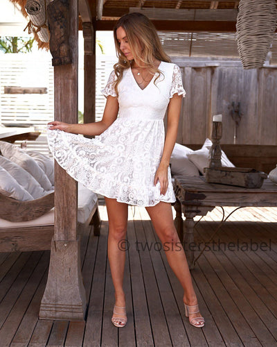 Laura Dress - White
