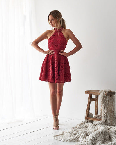 Spence Dress - Red