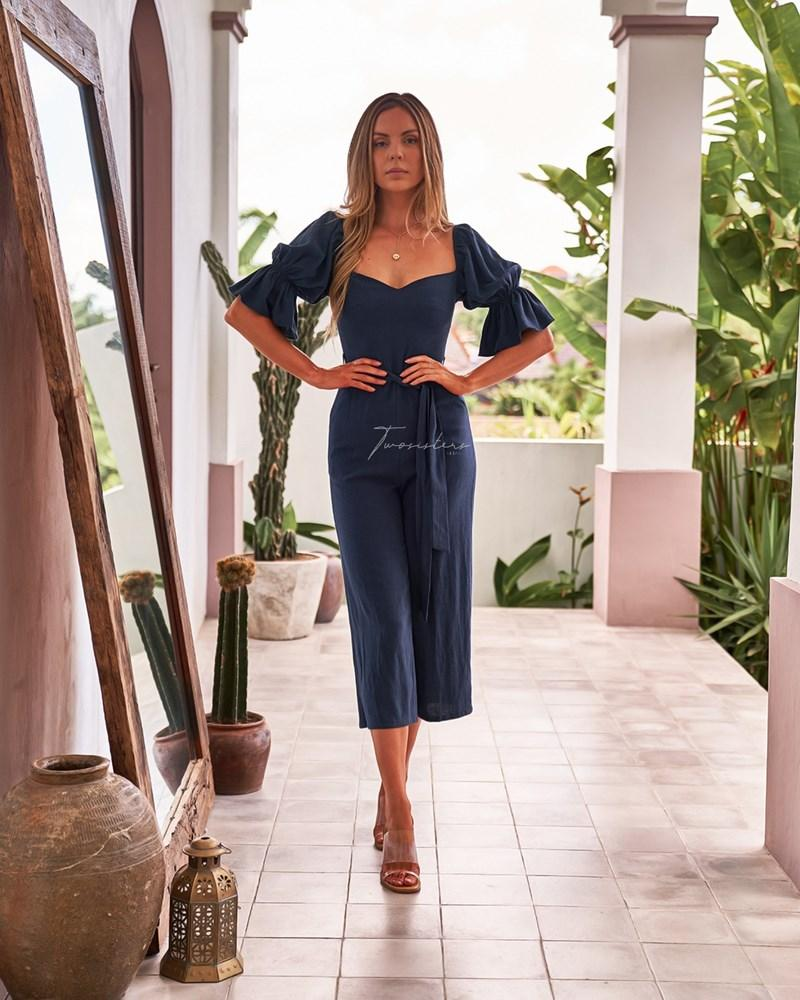 Twosisters The Label Freya Jumpsuit Navy