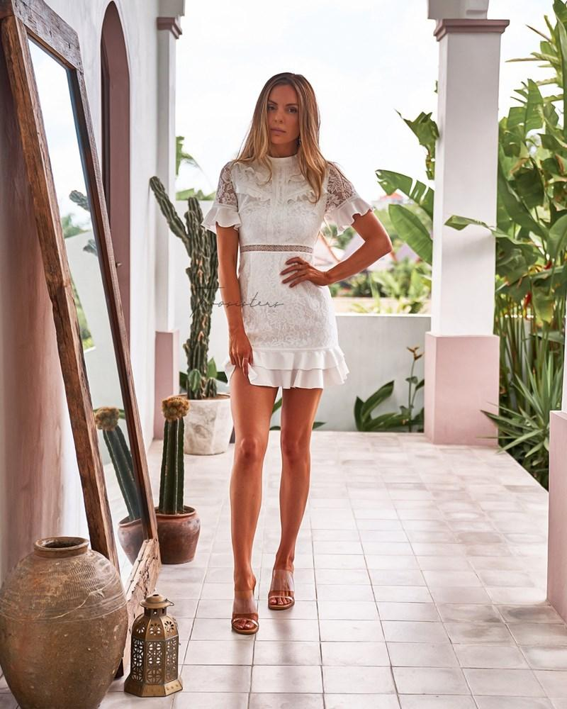 Twosisters The Label Monty Dress White