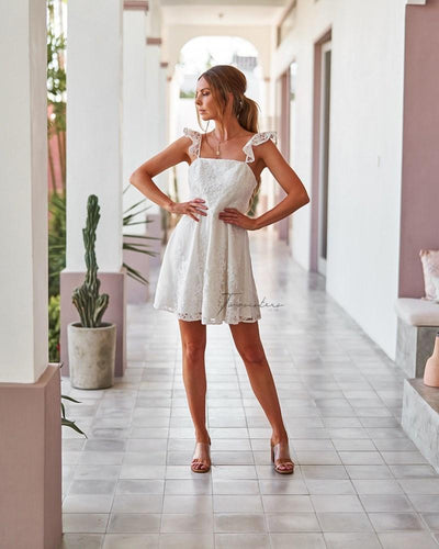 Twosisters The Label Tamica Dress White
