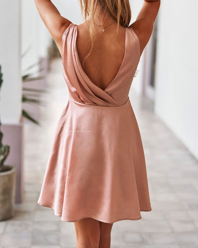 Twosisters The Label Tegan Dress Rose Gold