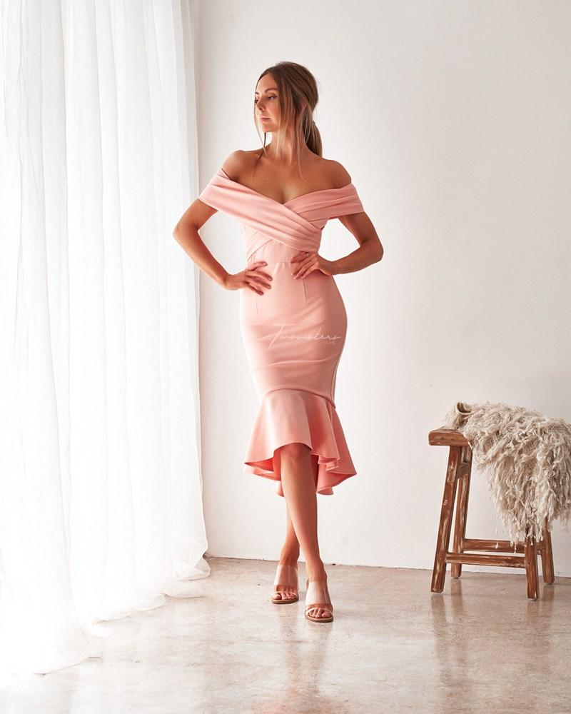 Twosisters The Label Brienne Dress Blush