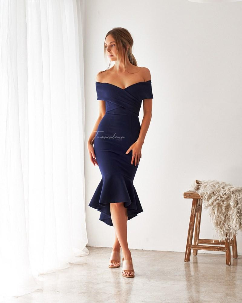 Twosisters The Label Brienne Dress Navy