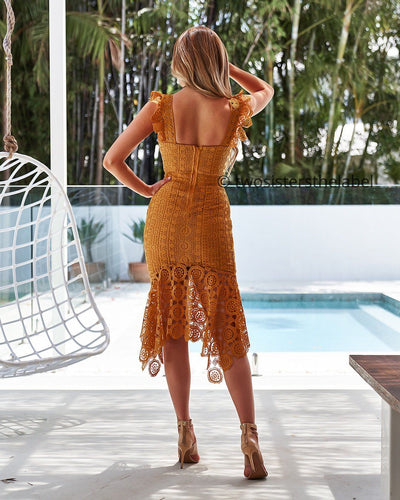 Giselle Dress- Mustard
