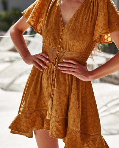 Catania Dress - Mustard