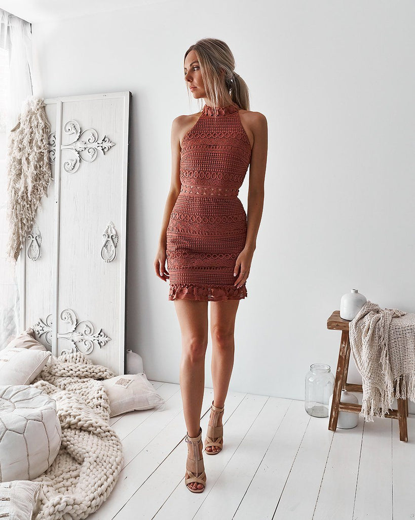 Rivers Dress -  Mauve