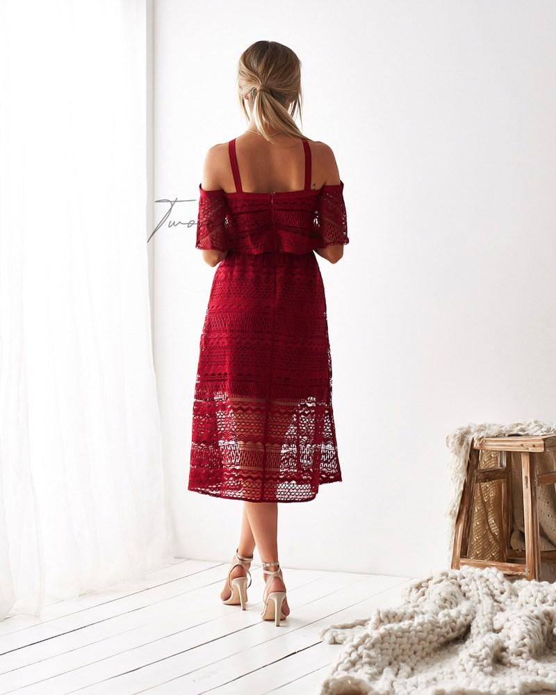 Sheffield Dress - Red