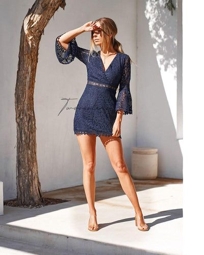 Brooklyn Dress - Navy
