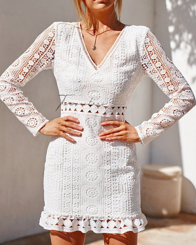 Emery Dress - White