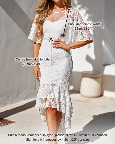 Twosisters The Label Reyna Dress White