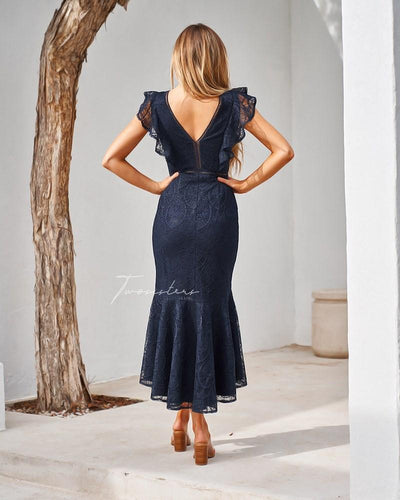Chantelle Dress- Navy