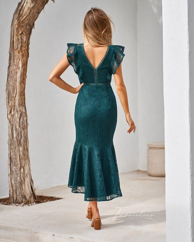 Chantelle Dress- Green