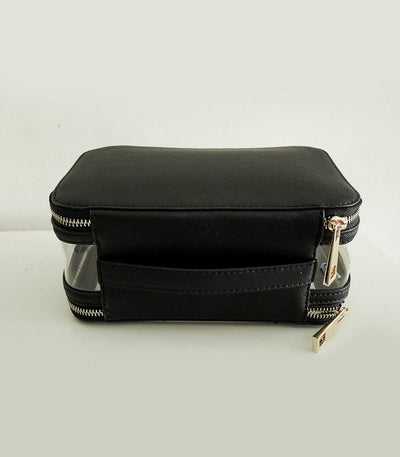 Travel Makeup Bag - Black