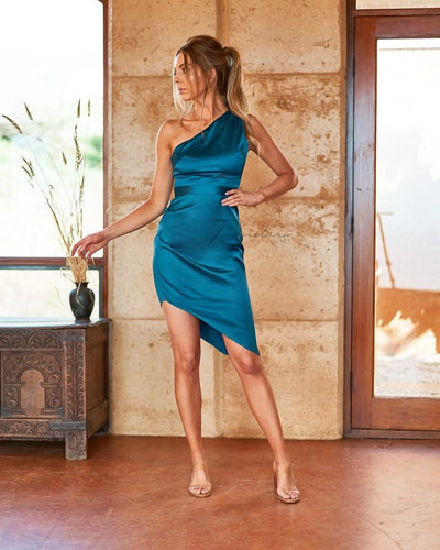 Lindsey Dress- Teal