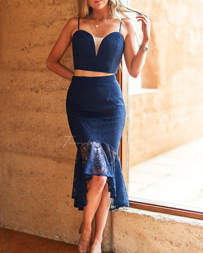 Caryn Set - Navy