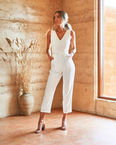 Amanda Jumpsuit - White