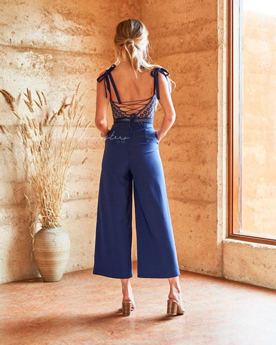 Beryl Jumpsuit - Navy