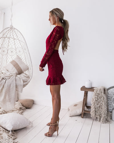 Medindie Dress - Red