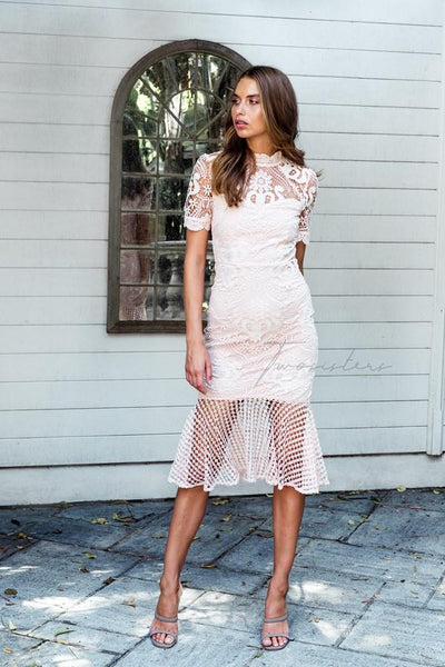 Crystal Dress - Light Pink