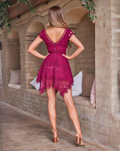 Havana Dress - Fuschia