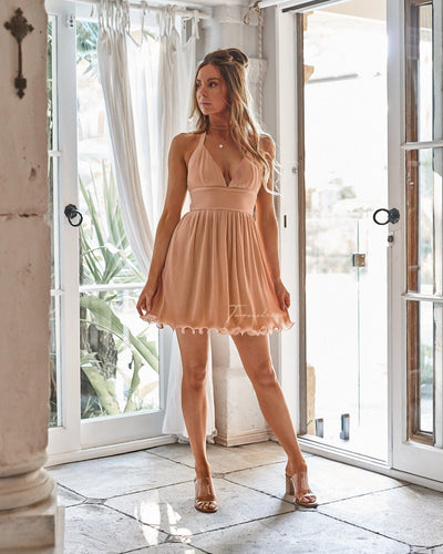 Twosisters The Label Mindy Dress Peach