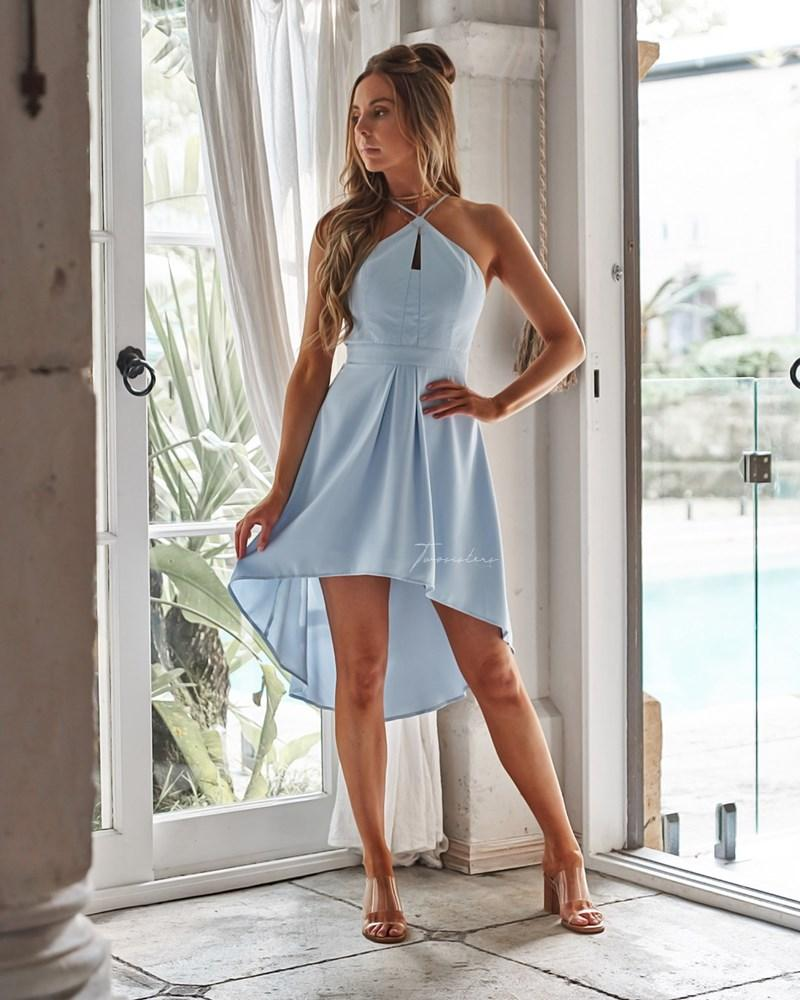 Twosisters The Label Faye Dress Baby Blue