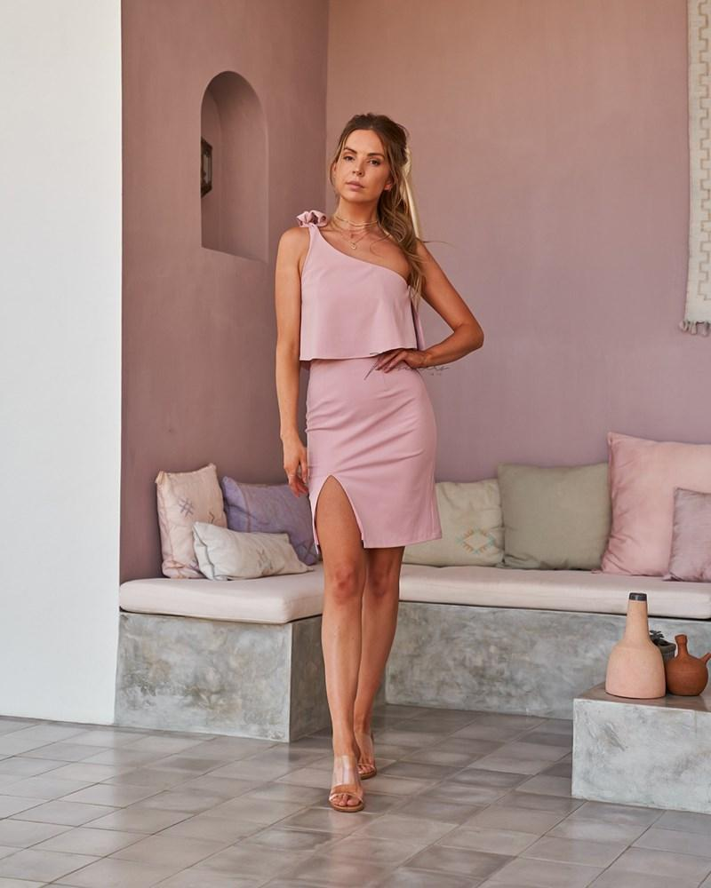 Twosisters The Label Edith Dress Pink